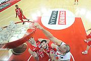DESCRIZIONE : Pesaro Lega A 2011-12 Scavolini Siviglia Pesaro EA7 Emporio Armani Milano Semifinali Play off gara 4<br /> GIOCATORE : Marco Cusin<br /> CATEGORIA : special schiacciata sequenza<br /> SQUADRA : Scavolini Siviglia Pesaro<br /> EVENTO : Campionato Lega A 2011-2012 Semifinale Play off gara 4<br /> GARA : Scavolini Siviglia Pesaro EA7 Emporio Armani Milano<br /> DATA : 04/06/2012<br /> SPORT : Pallacanestro <br /> AUTORE : Agenzia Ciamillo-Castoria/C.De Massis<br /> Galleria : Lega Basket A 2011-2012  <br /> Fotonotizia : Pesaro Lega A 2011-12 Scavolini Siviglia Pesaro EA7 Emporio Armani Milano Semifinale Play off gara 4<br /> Predefinita :