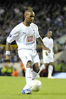 Photo: Ed Godden/Sportsbeat Images.<br /> Tottenham Hotspur v Anorthosis Famagusta. UEFA Cup, First Leg. 20/09/2007. Spurs' Jermaine Defoe chips the ball over the keeper to score his 1st of the game.