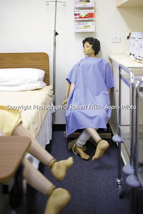 Nursing mannequins at a school of nursing