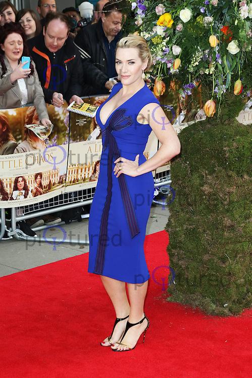 Kate Winslet, A Little Chaos - UK film premiere, Odeon Kensington, London UK, 13 April 2015, Photo by Richard Goldschmidt
