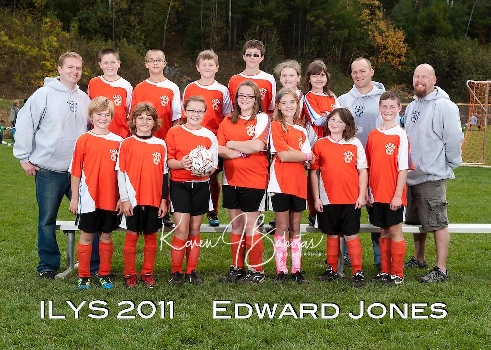 Inter Lakes Youth Soccer League Edward Jones Team October 15, 2011.