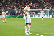 Real Madrid Midfielder Gareth Bale during the International Champions Cup match between Real Madrid and FC Barcelona at the Hard Rock Stadium, Miami on 29 July 2017.