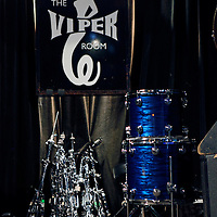 USA, California, Los Angeles. The Viper Room stage on Sunset Strip in West Hollywood.