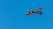 Parker built Curtiss Pusher in flight at WAAAM.