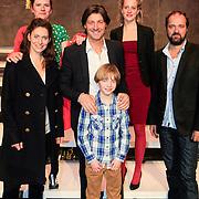NLD/Haarlem/20130219 - Premiere Kramer vs. Kramer, Cast, Pia Douwes, Rick, Engelkes, Kees Boot, Margreet Boersbroek, David Rebergen Fenneke Dam