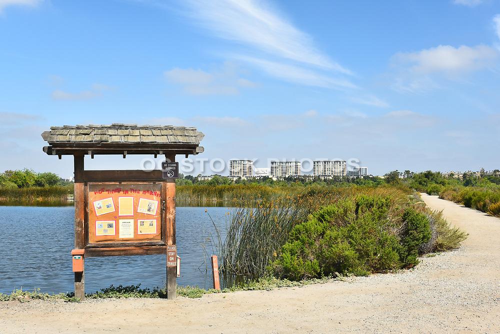 Information Kiosk at San Joaquin Marsh Reserve