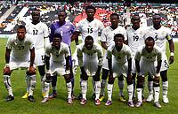 Football - International Friendly - Ghana vs. Lativa<br /> Back Row:-<br /> Prince Tagoe, Daniel Adjei, Isaac Vorsah. Asamoah Gyan,Lee Addy andJohn Mensah of Ghana.<br /> Front Row:-<br /> Kevin-Prince Boateng,Samuel Inkoom, Kwadwo Asamoah, Anthony Annan and Abdul Rahim Ayew of Ghana.<br /> at Stadium.mk