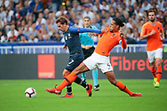 Antoine Griezmann (FRA), Virgil Van Dijk (NDL) during the UEFA Nations League, League A, Group 1 football match between France and Netherlands on September 9, 2018 at Stade de France stadium in Saint-Denis near Paris, France - Photo Stephane Allaman / ProSportsImages / DPPI
