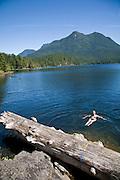 Unwin Lake, Desolation Sound, British Columbia, Canada