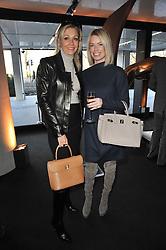 Left to right, NADJA SWAROVSKI and CAROLINE HABIB at the launch of One Hyde Park, The Residences at Mandarin Oriental, Knightsbridge, London on 19th January 2011.
