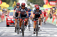 Darwin Atapuma (COL - UAE Team Emirates), Kristijan Durasek (CRO, UAE Team Emirates), Daniel Martin (IRL - UAE Team Emirates) during the 105th Tour de France 2018, Stage 8, Dreux - Amiens Metropole (181km) on July 14th, 2018 - Photo Luca Bettini / BettiniPhoto / ProSportsImages / DPPI