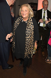 DAME VIVIEN DUFFIELD at a dinner to celebrate Sir David Tang's 20 year patronage of the Royal Academy of Arts and the start of building work on the Burlington Gardens wing of the Royal Academy held at 6 Burlington Gardens, London on 26th October 2015.
