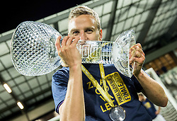 Ales Mertelj #70 of NK Maribor celebrates with a trophy after winning during football match between NK Celje and NK Maribor in Final of Slovenian Cup 2016, on May 25, 2016 in Stadium Bonifika, Koper, Slovenia. Photo by Vid Ponikvar / Sportida