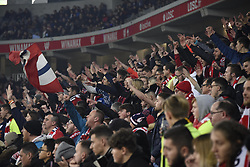 March 15, 2019 - Lille, France - Supporters de l equipe LOSC - ambiance - tribune (Credit Image: © Panoramic via ZUMA Press)