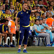 Fenerbahce's headcoach Vítor Pereira during their UEFA Champions league third qualifying round first leg soccer match Fenerbahce between Shakhtar Donetsk at the Sukru Saracaoglu stadium in Istanbul Turkey on Tuesday 28 July 2015. Photo by Aykut AKICI/TURKPIX