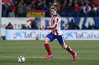 Atletico de Madrid´s Fernando Torres during Copa del Rey `Spanish King Cup´ soccer match at Vicente Calderon stadium in Madrid, Spain. January 28, 2015. (ALTERPHOTOS/Victor Blanco)
