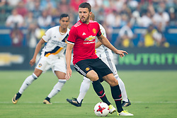 July 15, 2017 - Carson, California, U.S - Manchester United M Michael Carrick (16) in action during the summer friendly between Manchester United and the Los Angeles Galaxy at the StubHub Center. (Credit Image: © Brandon Parry via ZUMA Wire)
