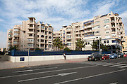Apartment housing Melilla autonomous city state Spanish territory in north Africa, Spain