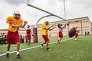 Katy High School Football Practice