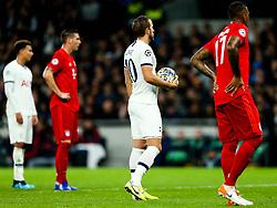 Harry Kane of Tottenham Hotspur steps up to take a penalty - Rogan/JMP - 01/10/2019 - FOOTBALL - Tottenham Hotspur Stadium - London, England - Tottenham Hotspur v Bayern Munich - UEFA Champions League Group B.