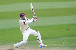 Jamie Overton of Somerset  - Mandatory byline: Dougie Allward/JMP - 07966386802 - 11/09/2015 - Cricket - County Ground -Taunton,England - Somerset CCC v Hampshire CCC - LV=County Championship - Day 3