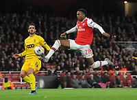 Football - 2019 / 2020 UEFA Champions League - Group F: Arsenal vs. Standard Liege<br /> <br /> Joe Willock of Arsenal, at The Emirates Stadium.<br /> <br /> COLORSPORT/ANDREW COWIE