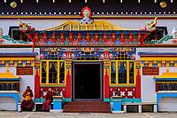 Inde, Bengale Occidental, Darjeeling, Ghum, Monastère Yiga Choeling gompa // India, West Bengal, Darjeeling, Ghum, Yiga Choeling Monastery