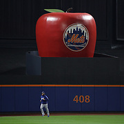 Pitcher Clayton Kershaw, Los Angeles Dodgers, warming up before the New York Mets Vs Los Angeles Dodgers, game four of the NL Division Series at Citi Field, Queens, New York. USA. 13th October 2015. Photo Tim Clayton