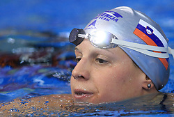 Anja Carman of Slovenia placed 4th in the women's 200m backstroke final race at day 4 of LEN European Short Course Swimming Championships Rijeka 2008, on December 14, 2008,  in Kantrida pool, Rijeka, Croatia. (Photo by Vid Ponikvar / Sportida)