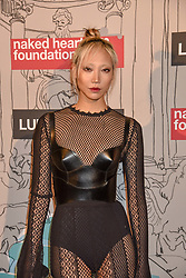 Soo Joo Park at the Fabulous Fund Fair in aid of Natalia Vodianova's Naked Heart Foundation in association with Luisaviaroma held at The Round House, Camden, London England. 18 February 2019.