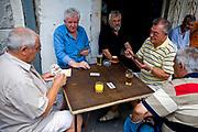 Cards, Split, Dalmatian Coast, Croatia