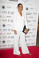 Amal Fashanu on the red carpet for the Lifestyle Awards 2021, at the Landmark Hotel Marylebone, London.