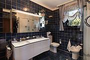 Architecture, interior of modern bathroom in luxury house