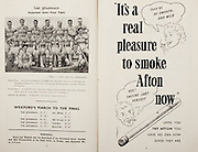 All Ireland Senior Hurling Championship Final,.Programme,.02.09.1951, 09.02.1951, 2nd September 1951,.Wexford 3-9, Tipperary 7-7,.Minor Cork v Galway, .Senior Wexford v Tipperary, .Croke Park, ..Advertisements, Afton Cigarettes, ..Articles, Wexford's March to the Final,