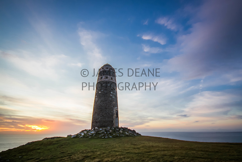 The American Monument sited at the Mull of Oa, Isle of Islay