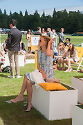 KATE FREUD, The Veuve Clicquot Gold Cup Final.<br /> Cowdray Park Polo Club, Midhurst, , West Sussex. 15 July 2012.