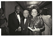 ROY INNES, JOEY ADAMS, CINDY ADAMS, Core fundraiser. Manhattan, 1993.