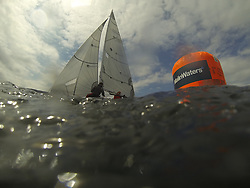 The Silvers Marine Scottish Series 2014, organised by the  Clyde Cruising Club,  celebrates it's 40th anniversary.<br /> Day 2 MalinWaters mark<br /> Racing on Loch Fyne from 23rd-26th May 2014<br /> <br /> Credit : Marc Turner / PFM
