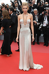Cannes - Cleavages - Stella Maxwell attending the screening of 'Sorry Angel (Plaire, Aimer Et Courir Vite)' during the 71st annual Cannes Film Festival at Palais des Festivals on May 10, 2018 in Cannes, France. Photo by David Boyer/ABACAPRESS.COM
