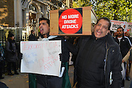 London Protest Against US Drone Attacks in Pakistan