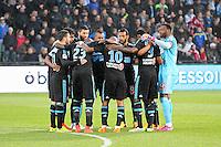 Equipe Marseille - 01.05.2015 - Metz / Marseille - 35e journee Ligue 1<br />Photo : Fred Marvaux / Icon Sport