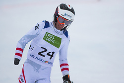 Pajantschitsch Nico of Austria during Slalom race at 2019 World Para Alpine Skiing Championship, on January 23, 2019 in Kranjska Gora, Slovenia. Photo by Matic Ritonja / Sportida