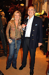 COUNT & COUNTESS GIOVANNI EMO-CAPODILISTA at Polo Ralph Lauren's Pink Pony Party to launch it's Pink Pony Collection in aid of Cancer Research UK, held at their Fulham Road Store, London on 13th October 2004.<br /><br /> UKNON EXCLUSIVE - WORLD RIGHTS
