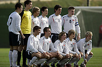 Fotball / Football<br /> International U 17 Team Tournament<br /> Norge v Polen 3-1<br /> Norway v Poland 3-1at La Manga - Spain<br /> Poland played in Norways white changing shirts<br /> 05.02.2007<br /> Foto: Morten Olsen, Digitalsport<br /> <br /> Lagbilde Polen / Team Photo Poland