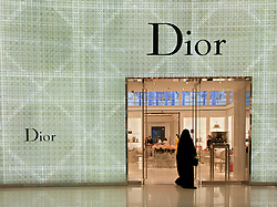 Dior boutique in Dubai Mall in Dubai United Arab Emirates UAE