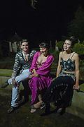 JOSEPH STIEGER-WHITE; SADIE GOLDSMITH-HILL; CHARLOTTE PEART, Alice Manners 18th   birthday. Belvoir Castle, Grantham. 12 April 2013.