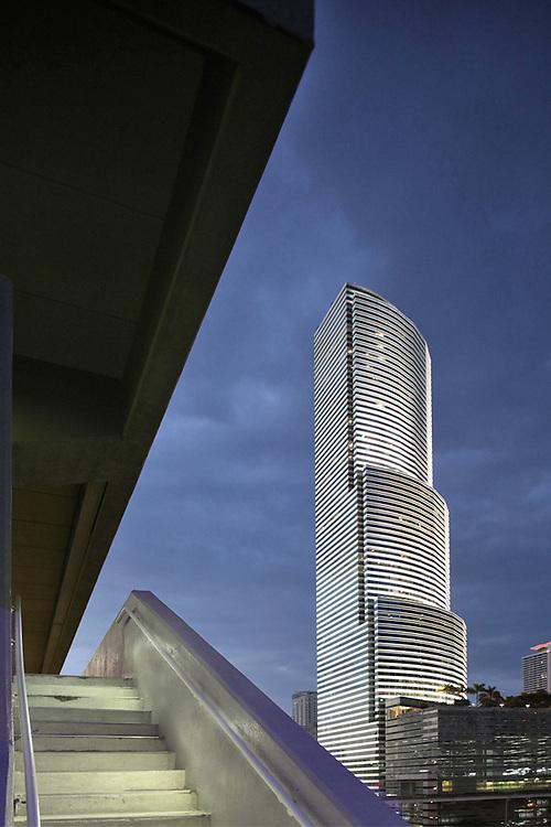 America Tower Miami. Architect I.M Pei 1986