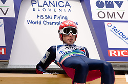 EVENSEN Johan Remen, Molde Omegn Idrettforening, NOR  competes during Flying Hill Team Trial Round at 4th day of FIS Ski Flying World Championships Planica 2010, on March 21, 2010, Planica, Slovenia.  (Photo by Vid Ponikvar / Sportida)