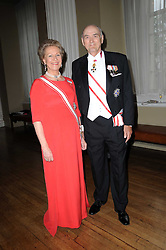 PRINCE & PRINCESS DIMITRI OF RUSSIA at the 13th annual Russian Summer Ball held at the Banqueting House, Whitehall, London on 14th June 2008.<br /><br />NON EXCLUSIVE - WORLD RIGHTS