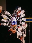 Kodiak Alutiiq Dancers performing at the Alaska State Fair, Palmer, Alaska.